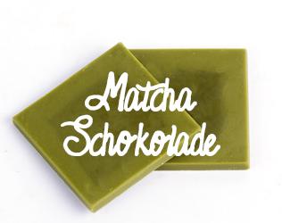 Matcha Schokolade