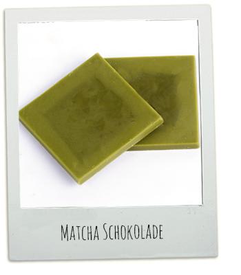Rezept Matcha Schokolade