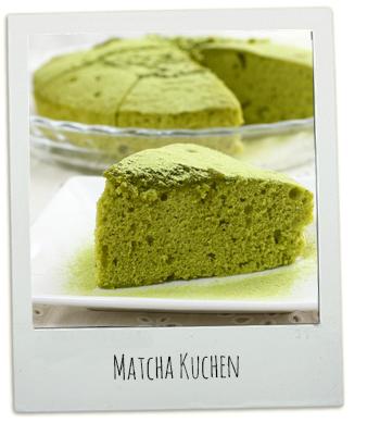 Rezept Matcha Kuchen